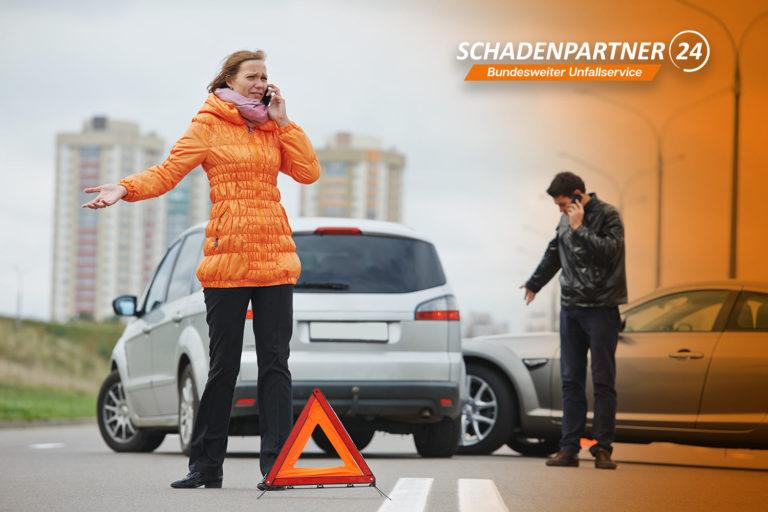 Autounfall - Ratlos? Schadenersatz Anspruch sichern