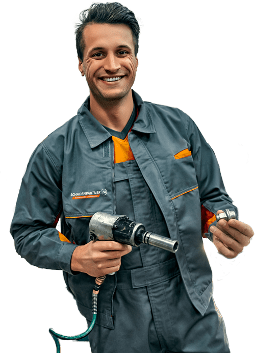 Wekstatt Reparatur nach Autounfall