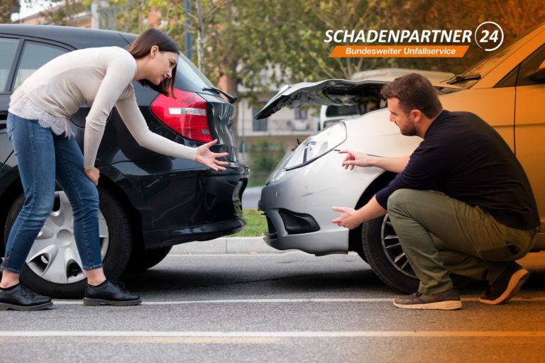 Unfall was tun? Schadenpartner24 hilft
