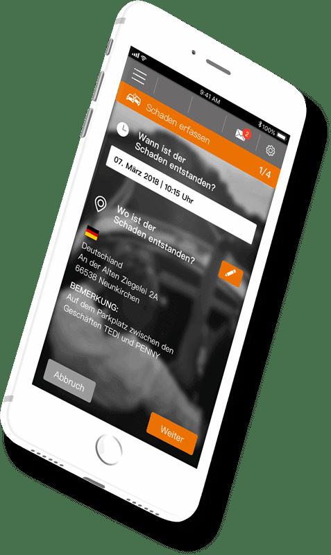 Unfallschaden App