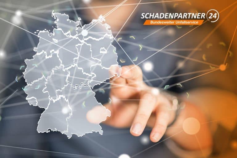 Das bundesweite Partnernetzwerk von Schadenpartner24