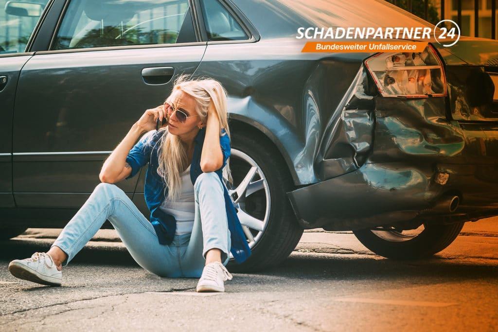 Keine Sorgen nach Autounfall mit Schadenpartner24