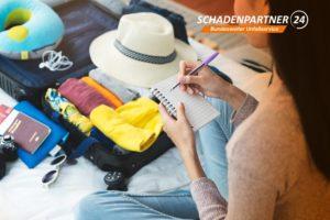 Urlaub mit dem Auto - Autounfall Schadenpartner24