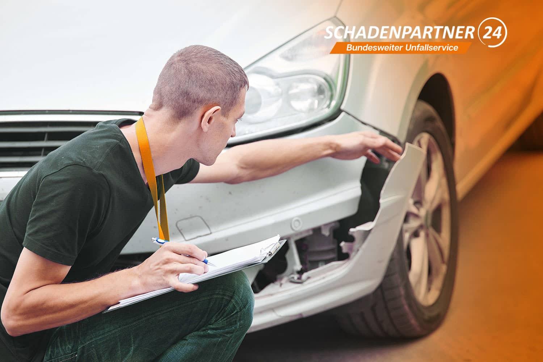 Gutachter - Autounfall Schadenpartner24
